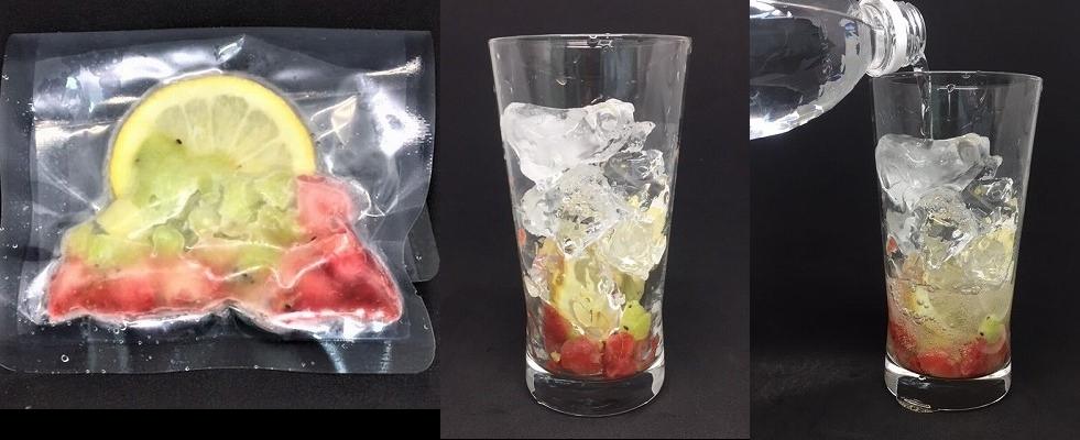 「冷凍果実 レモネードの素」で 、インスタ映えするヘルシーなバリエーション豊かなレモネードが手軽に作れます。